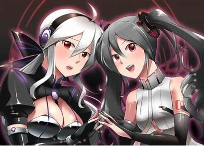 Edit Vocaloid Konachan Gray Haku Miku Respond