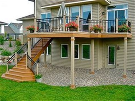 Two Story Deck Ideas by 1000 Ideas About Two Story Deck On Pinterest Second