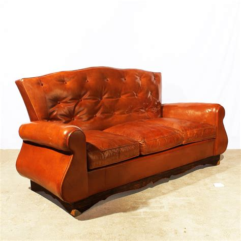 Chesterfield Settee For Sale by Chesterfield Style Sofa 1940s For Sale At Pamono