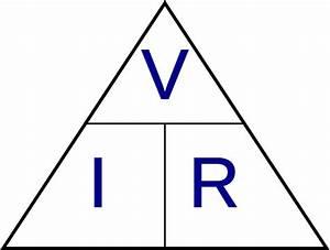 File Ohm U0026 39 S Law Triangle Svg