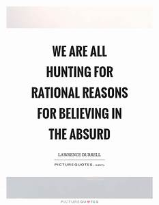 We are all hunt... Absurd Motivational Quotes