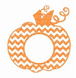 Chevron pumpkin template images for Monogram pumpkin templates