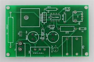 Power Supply Pcb And Components  U2014 Electrophoresis Variable