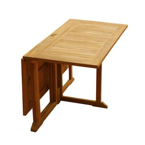 table bois pliante exterieur salon et jardin trendsetter
