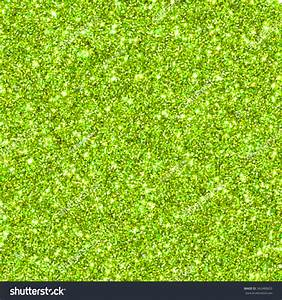 Lime Green Glitter For Texture Or Background Blur Stock ...
