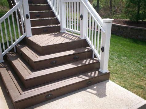 build wood spiral deck stairs supergtr