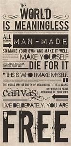 Existentialism.... Existentialism Life Quotes