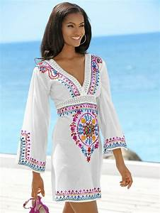 1000 ideas about tunique plage on pinterest plage for Robes indiennes en coton