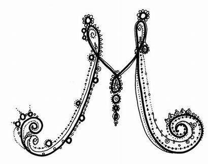 Fancy Letter Alphabet Lettering Letters Calligraphy Font