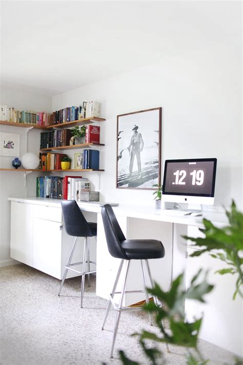 Let's take the ikea linnmon desk and make it way better so it doesn't sage. Custom Built-In Desks   Ikea Desk Hacks   POPSUGAR Home ...