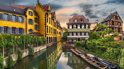 The Human Settlements Colmar The Capital Of The