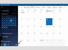 How to Integrate Google Calendar with Windows 10 Calendar App
