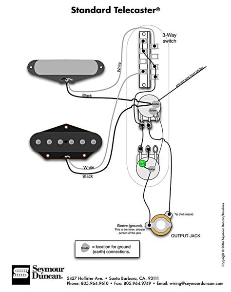 telecaster wire diagram standard tele wiring diagram telecaster build guitar