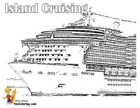Carnival Cruise Ship Coloring Pages Coloring Pages