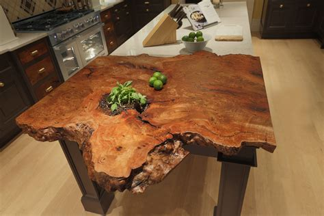 live edge wood countertops live edge countertop in the 2015 kips bay decorator show