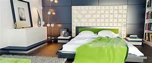 Tapeten Im Schlafzimmer : tapeten mehr 12 ideen zur wandgestaltung im schlafzimmer ~ Michelbontemps.com Haus und Dekorationen