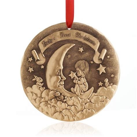 baby s first christmas ornament christmas pinterest