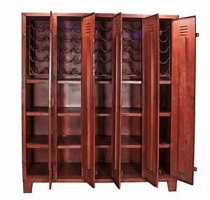 Casier A Bouteille Metallique : casiers vestiaires m talliques type industriel mod le siena ~ Melissatoandfro.com Idées de Décoration