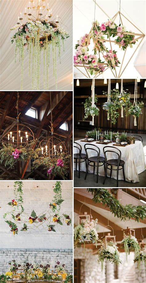 Hanging Wedding Flowers: The Biggest Boldest Floral Trend