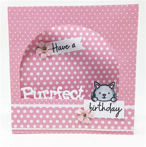 peek  boo cat dies stamps  crafters companion