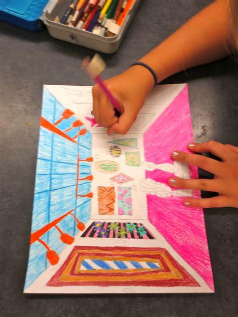 Zilker Elementary Art Class 5th Grade Art Gallery Drawings