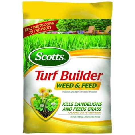 scotts 5 000 sq ft turf builder and feed zero