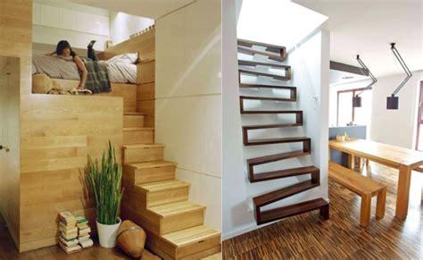 brique de verre cuisine escalier gain place petit espace accueil design et mobilier