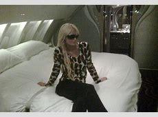 Paris Hilton takes luxury travel to a whole new level as