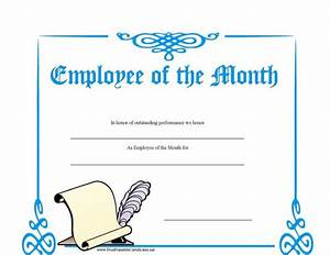 employee of the month certificate template with picture - 8 employee recognition certificates free premium
