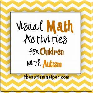 Career Helper For High School Students Visual Math Activities For Children With Autism By