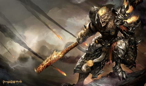 World Of Warcraft Wall Paper Wukong League Of Legends Wallpaper Wukong Desktop Wallpaper