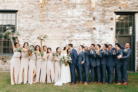 bohemian wedding in a warehouse lissette