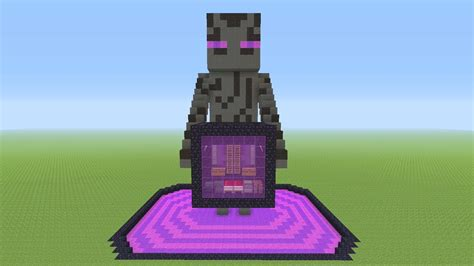 minecraft awesome enderman survival house  youtube
