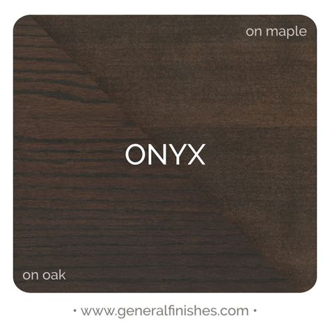 water based wood stain color onyx general finishes