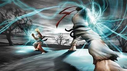 Ryu Fighter Street Ken Vs Sf
