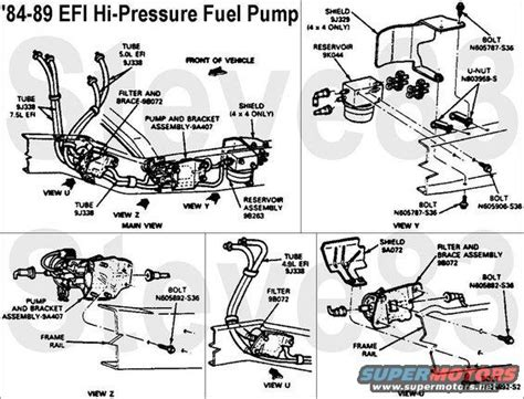 1988 Ford Bronco Fuel Line Diagram by Fuel Tank Lines Ford Bronco Forum