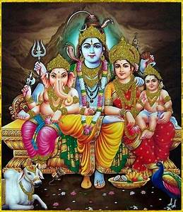 Lord shiva n his family | Religious | Pinterest | Lord ...