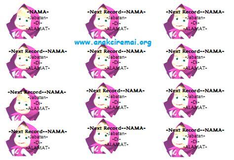 label undangan unik background gambar marsha kalam azhar