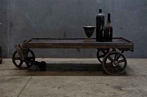 $1085 Usa, C1910s Vintage Industrial Steel Wheeled