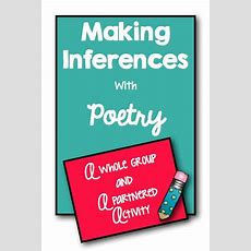Making Inferences With Poetry  Upper Elementary Snapshots Bloglovin'