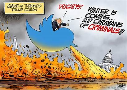 Cartoon Beeler Opinion Trump Winter Coming Nate