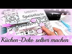 Plektrum Selber Machen : deko f r k che selber machen speisekarte diy basteln mit washi tape tutorial deutsch ~ Orissabook.com Haus und Dekorationen
