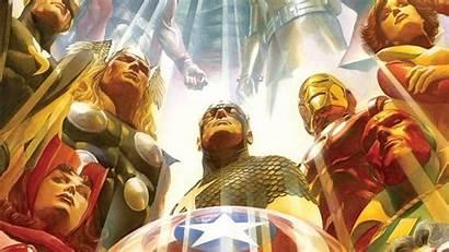 Stan Lee Marvel Comics Ross Alex Wallpapers
