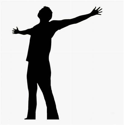 God Silhouette Clip Prayer Praise Worship Praising