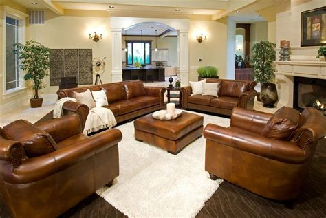 light living room furniture rustic dim brown leather sofas fantastic expense for warm