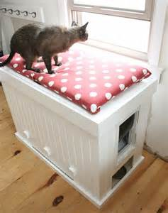 where to put cat litter box 25 cool ways to hide a cat litter box digsdigs