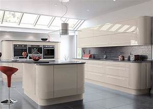 High Gloss Cashmere Kitchen Doors From £2 99