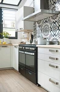 des carreaux de ciment dans la cuisine design meubles With carreaux de ciment pour cuisine