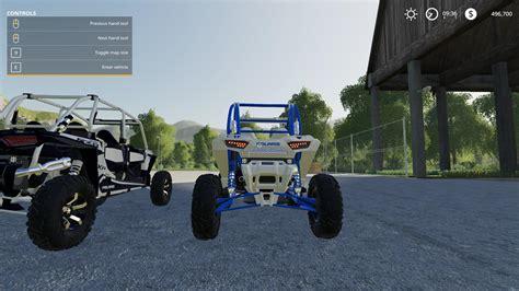 Rzr 2 Door Full Suspension V10 Fs19 Farming Simulator