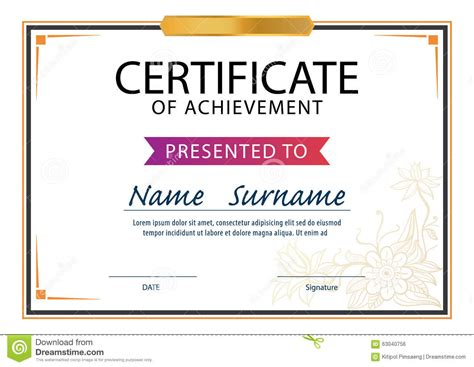 Retardant Certificate Template by Certificate Template Size 1 Best Sles Templates